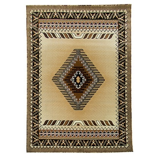 Kingdom Southwestern Pattern Area Rug (5' x 7')