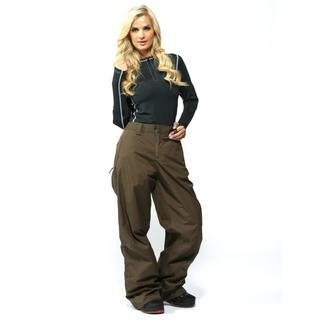 Burton Women's Roasted Brown Concert Ski Pants (Size XL)