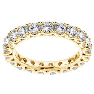 14K/18K Yellow Gold 1 3/4ct TDW Diamond Eternity Wedding Band (F-G, SI1-SI2)