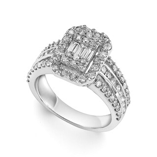 14k White Gold 1 1/4ct TDW Diamond Ring (I-J, I1-I2)