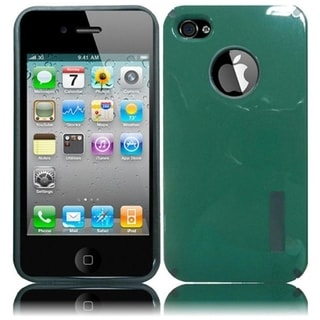BasAcc Teal /Hot Pink Case for Apple iPhone 4/ 4S