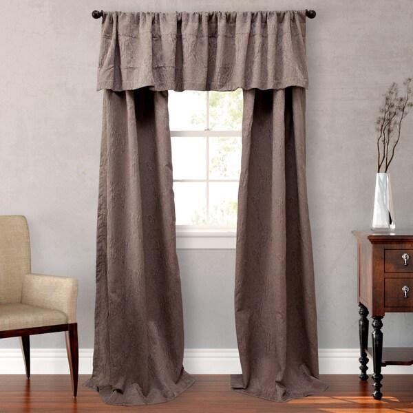 Nicole Miller Park Avenue Lined Curtain Panel Set