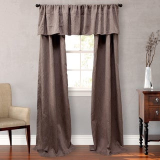 Nicole Miller Park Avenue Lined Curtain Panel Set