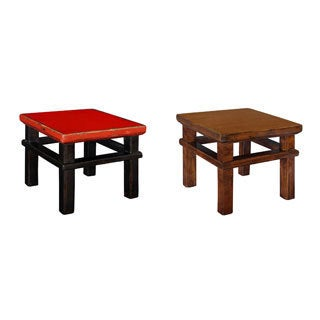 'Lilliputian' Wooden Stool