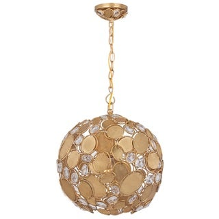 Pala 1-light Antique Gold Pendant