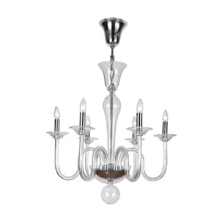 Pablo 6-light Chrome Chandelier