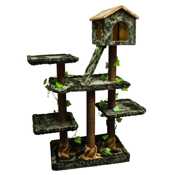 Kitty Mansions Yosemite Cat Tree Furniture