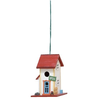 Wooden Open Sign Birdhouse
