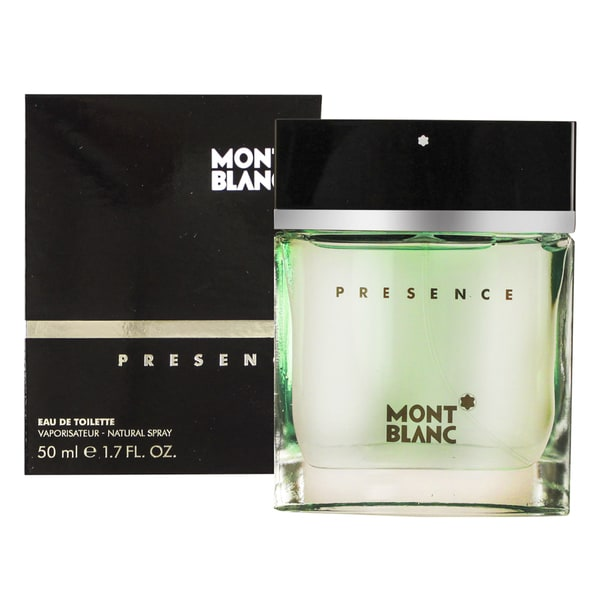 Mont Blanc Presence Men's 1.7-ounce Eau de Toilette Spray