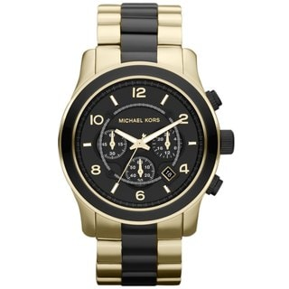Michael Kors Men's MK8265 Chronograph Black Dial Watch