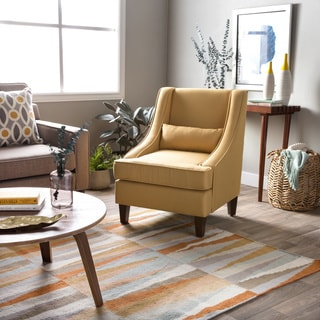 Jenny Slope French Yellow Upholstery Arm Chair