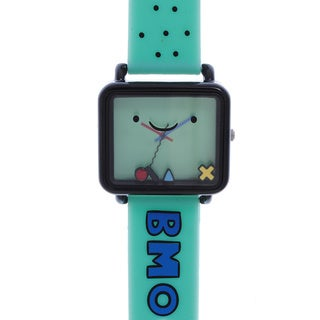 Adventure Time Kid's Rubber Green Watch