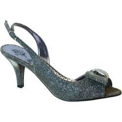 Women's J. Renee Dayna Pewter Glitter Fabric