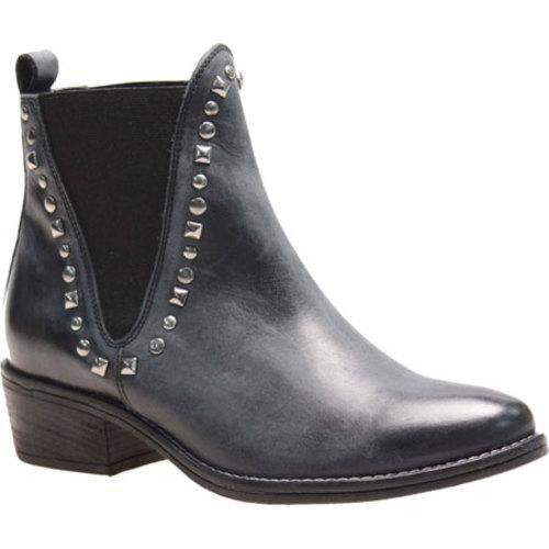 Women's J. Renee Wexler Black Soft Brushed Leather/Fleece