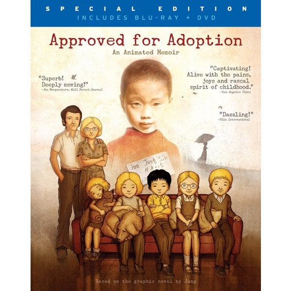 Approved for Adoption (Blu-ray/DVD) 12100374