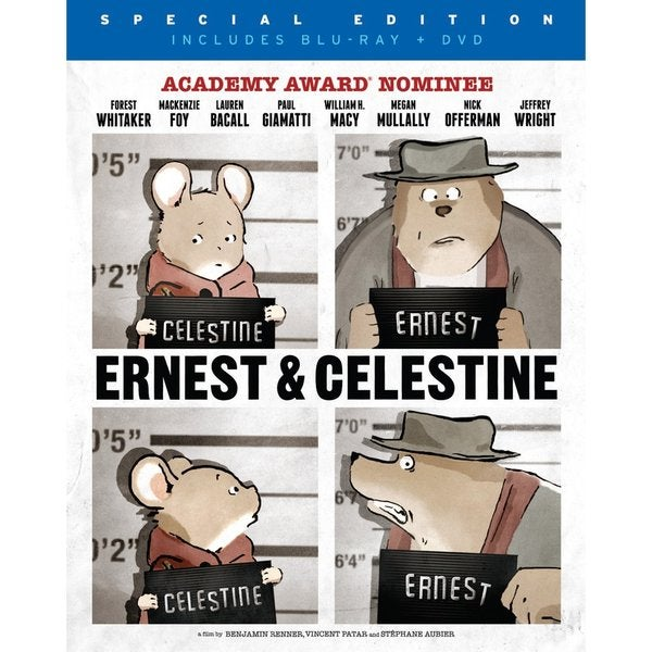 Ernest & Celestine (Blu-ray/DVD) 12100442