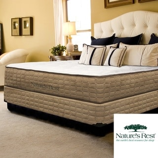 Nature's Rest Embrace Plush Latex Full-size Mattress and Foundation Set