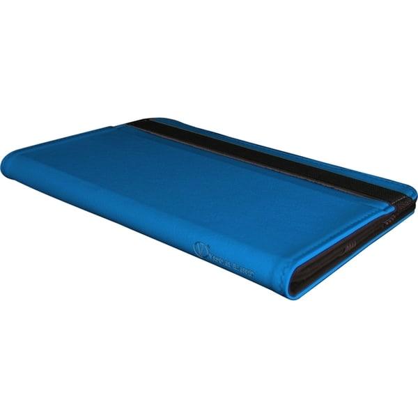 Visual Land Prestige 7 Folio Tablet Case (Blue)