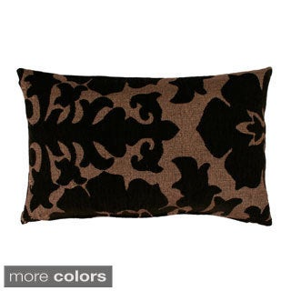 Veronica 12x20-inch Damask Pillow