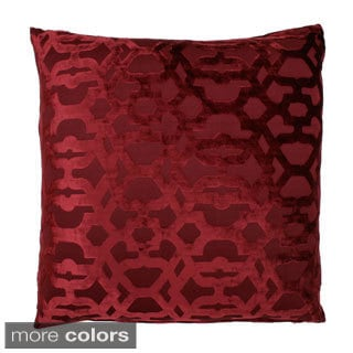 Damon 22x22-inch Feather Fill Scroll Pillow