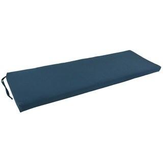 Blazing Needles 60x19-inch Twill 3-seater Bench Cushion