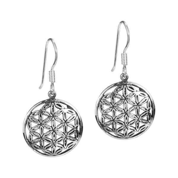 Timeless Interconnecting Jasmine Flower .925 Silver Earring (Thailand)