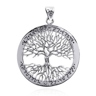 Magneficient Detailed 'Tree of Life' 925 Silver Pendant (Thailand)