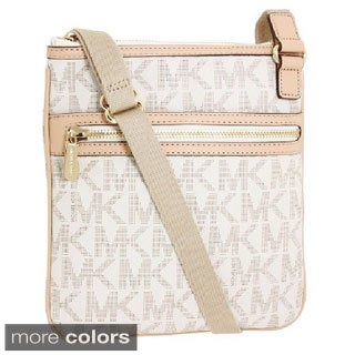 MICHAEL Michael Kors 'Jet Set' Large Monogrammed Crossbody