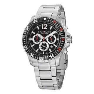 Stuhrling Original Men's Torricelli Quartz Stainless Steel Bracelet Watch