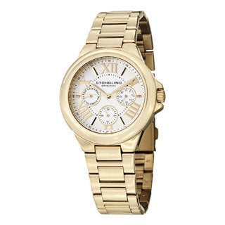 Stuhrling Original Women's Lady Pontiff Quartz Stainless Steel Casual Bracelet Watch