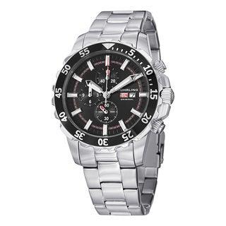 Stuhrling Original Men's Concorso Vigor Quartz Stainless Steel Bracelet Watch