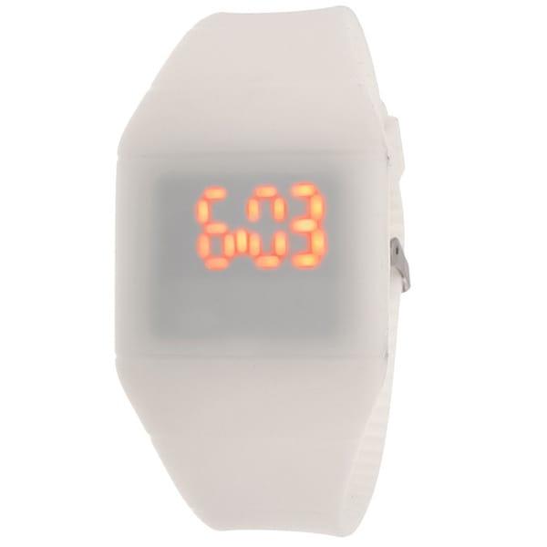 Lead Kids' White Rubber Watch