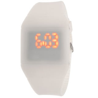 Lead Children's White Rubber Watch