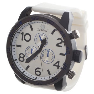 Zunammy Children's Rubber White Watch