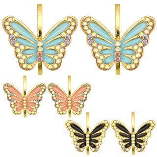 Kate Marie Fashion Butterfly Earrings