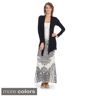 Women's Trapeze Open Cardigan