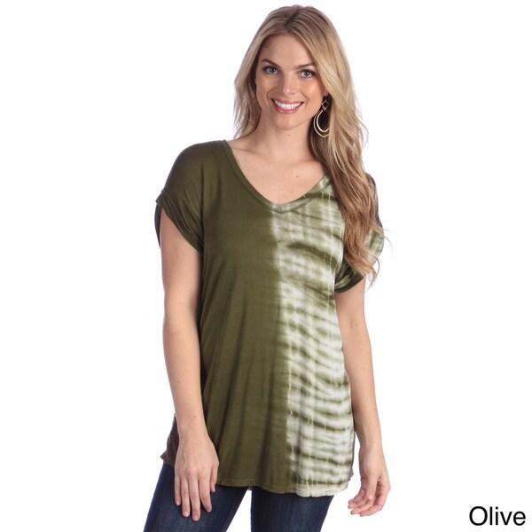 Hadari Women's Tie-dye Short Sleeve T-shirt