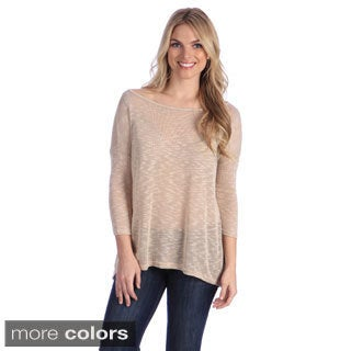 Hadari Women's Basic Knit Top