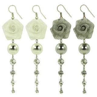 Kate Marie Vintage Rose Earrings