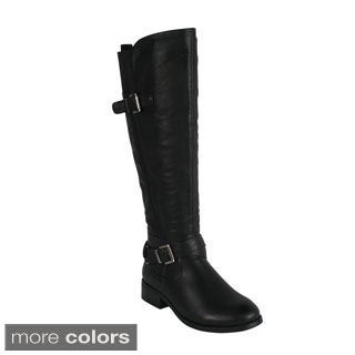 Reneeze HONEY-3 Women's Side Zip Knee-High Riding Boots