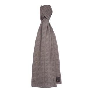 Fendi Zucca Wool Blend Scarf