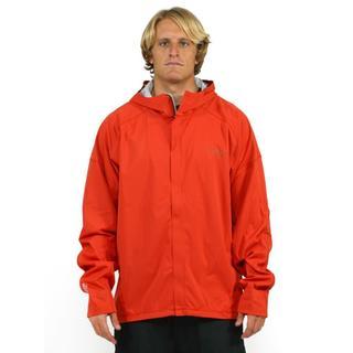 Mountain Hardwear Men's Orange Effusion Hooded Jacket (2X)