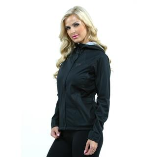 Mountain Hardwear Women's Black Effusion Hooded Jacket