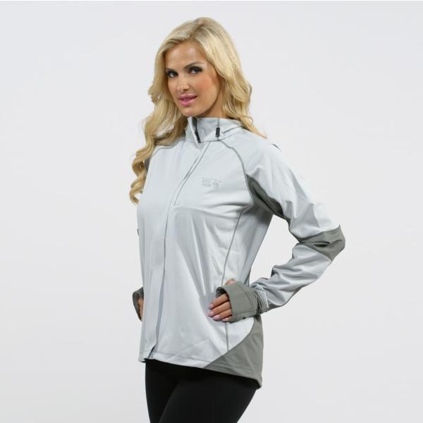 Mountain Hardwear Women's Grey Effusion Power Jacket