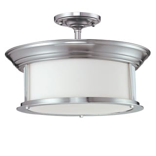 Z-Lite 3-light Semi-flush Mount Pendant Lamp