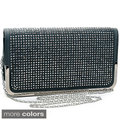 Dasein Soft Rhinestone Embellished Clutch Purse