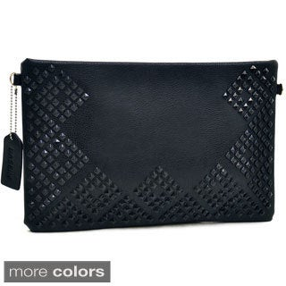 Dasein Large Aztec Studded Clutch Purse