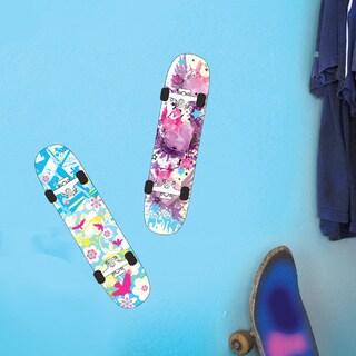 DCWV Birds and Hearts Skateboard Wall Art