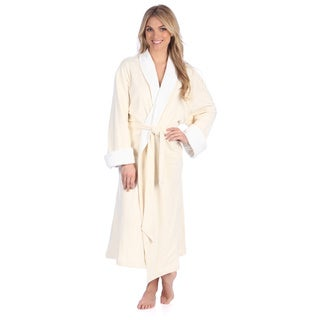 Portico Interlock Terry Organic Cotton Spa Robe