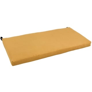 Blazing Needles 42-Inch x19-Inch Microsuede Settee/Bench Cushion